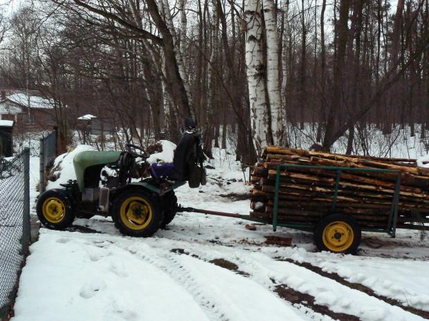 ursus c308 sam #CiągniczekOgrodniczy #CiągniczekLeśny #CiągniczekSadowniczy #traktor #sam #samoróbka #UrsusC308 #MałyCiągniczek #traktorek #dzik