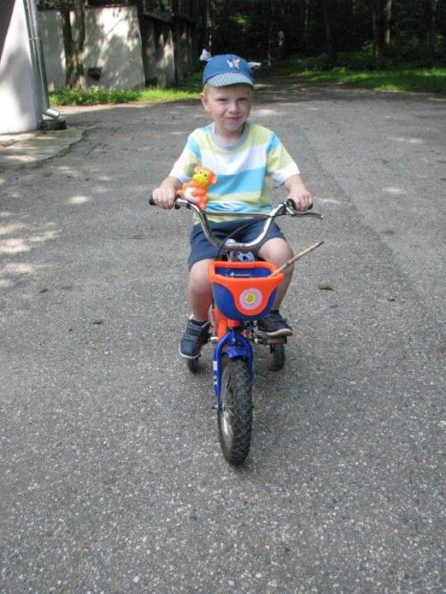 śmigaam na rowerku! :)