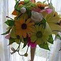 #bibuła #bukiety #KoszeKwiatowe #KwiatyZKrepiny