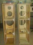 3 -drożne kolumny na głośnikach STX.