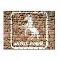 #koń #BiałyKoń #MalowanyKoń #inkscape #ściana #KamiennaŚciana #WhiteHorse #konie