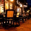 restauracja #fotka #krzesła #noc #restauracja