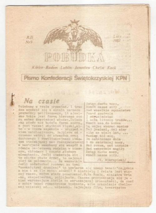 Kolejna edycja pisma. Do zespołu wydawniczego dołaczyli: Cezary Wach, Jarzy Pocheć, Andrzej Olszewski