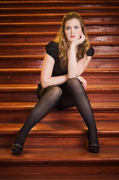 Bety #kobieta #portret #schody #dziewczyna #strobing #passiv #airking #nikon