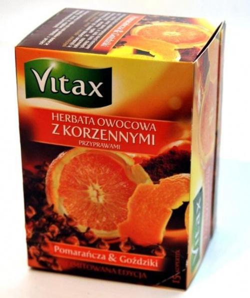 vitax herbata owocowa z korzennymi przyprawami