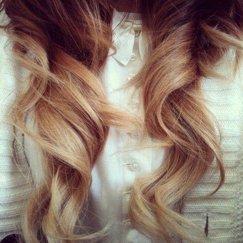 wavy hair stożkowa lokówka