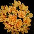 Bukiet kaczeńców #bibułkarstwo #CudaZPapieru #krepina #kwiatki #KwiatyZBibuły #KwiatyZKrepiny #artystyczne #bukiety #dekoracje #dekoratorstwo #kompozycje #kwiaty #NaStół #unikatowe #oryginalne #rękodzieło