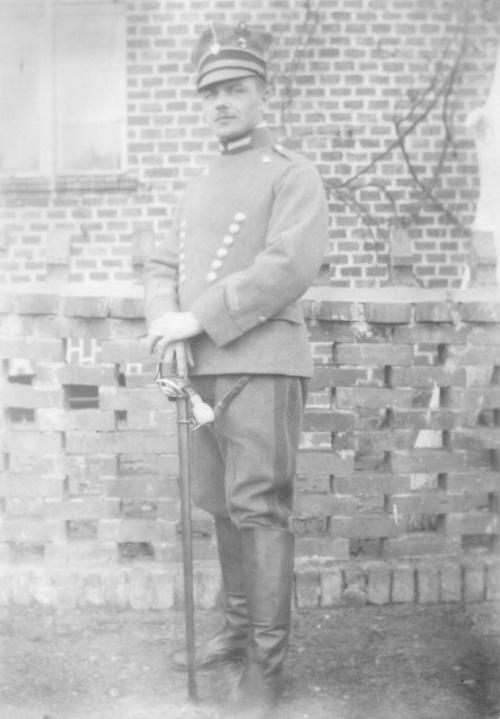 Wachmistrz Władysław Wienke w Książu