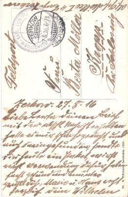 list żerków 1916