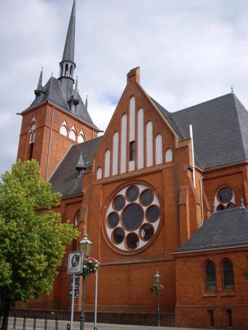 Kościół w Schwedt. #Schwedt