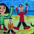 IV Konkurs Plastyczny dla uczniów szkół podstawowych #plastyczny #konkurs #prace #rysunek #dzieci #ŚwiatRodzina #mama #tata #siostra #brat