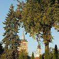 Dwie wieże #Polska #Wielkopolska #Wolsztyn