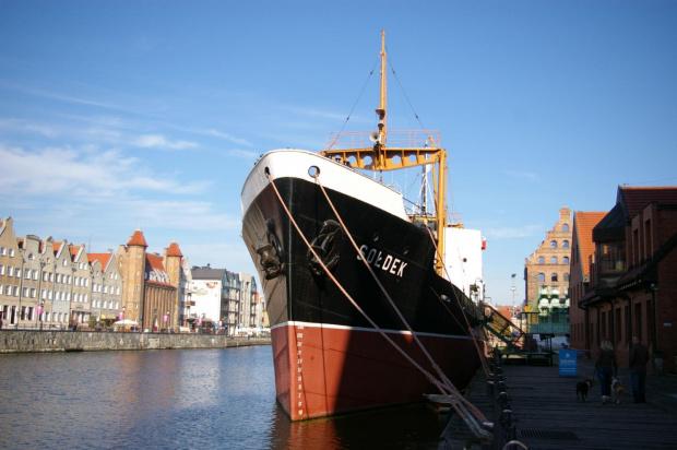 Sołdek #Gdańsk #miasto #motława #StareMiasto