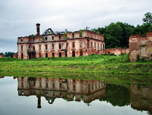 Słobity - pałac rodu zu Dohna