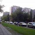 Warszawa al. Lotników #budynek #Warszawa #widok