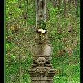 Zabytkowy krzyż w Szczawinie nieopodal Polanicy-Zdroju. #krzyż #zabytek #Szczawina #Polanica