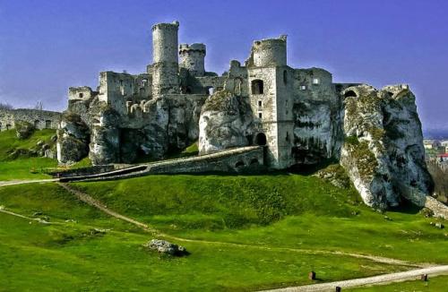 I co tu pisac prawie kazdy wie co to za zamek, a raczej jego ruiny...:) #evasaltarski #ogrodzieniec #ruiny #zamek
