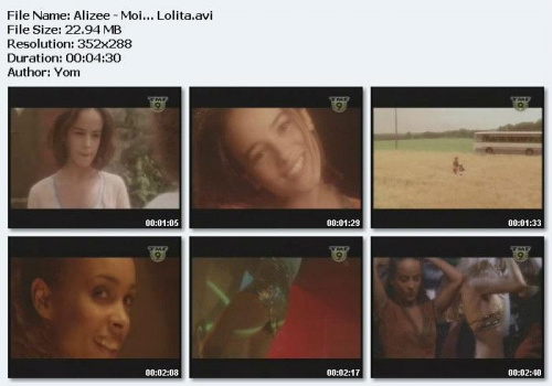 Alizee - Moi... Lolita (2001)