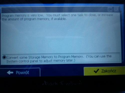 Zobacz Temat Program Memory Is Low