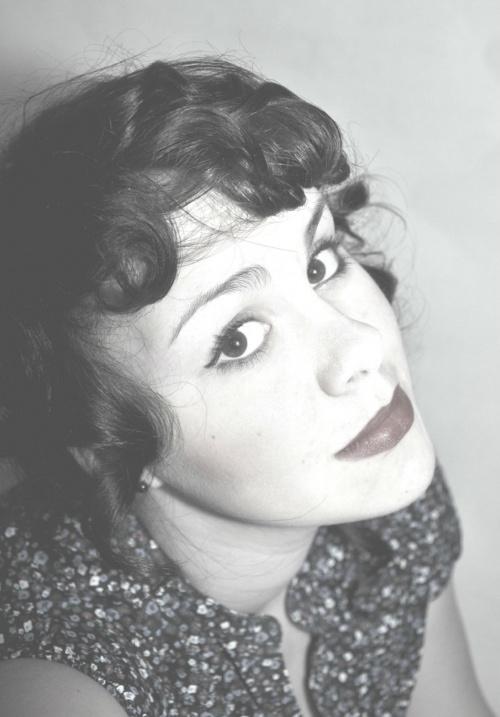 #portret #Lata20 #CzarnoBiałe #kobieta
