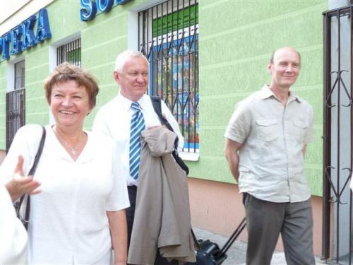 Pani Teresa Wysocka, Bogdan Sakowicz i Tadeusz Koprowski