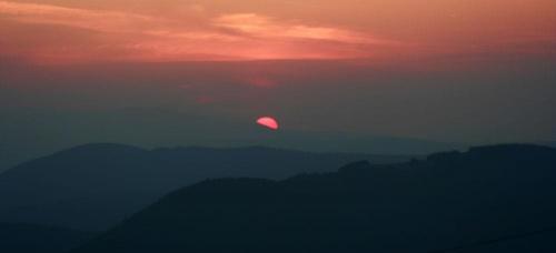 #góry #WschódSłońca #panorama