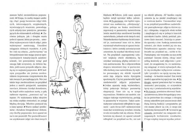 Stronice, obrazki - ksiazka o bledach fotograficnych