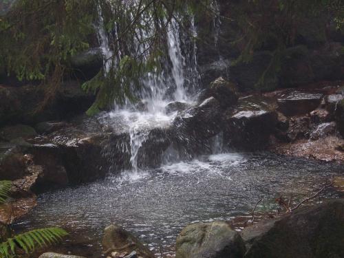 Wodospadzik #wodospad #woda #strumyk