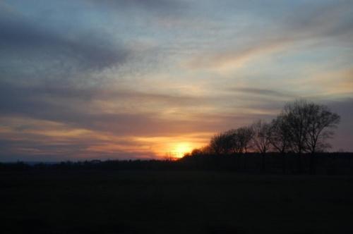 #PyłWulkaniczny #ZachódSłońca