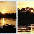 Powroty z wypraw zawsze są malownicze #Wisła #ZachódSłońca #wieczór #widok