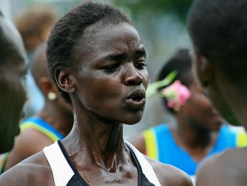Maraton - Kenijka #sport #maraton #zawodniczka #biegi