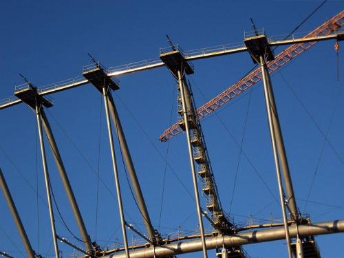 Stadion Narodowy,,,niecały:D #Warszawa #StadionNarodowy #Jesień2010 #GdzieśNadWisłą