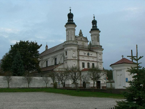 Sanktuarium maryjne w Wysokim Kole. #sanktuarium #kościół #zabytek #barok #architekura #WysokieKoło #GminaGniewoszów