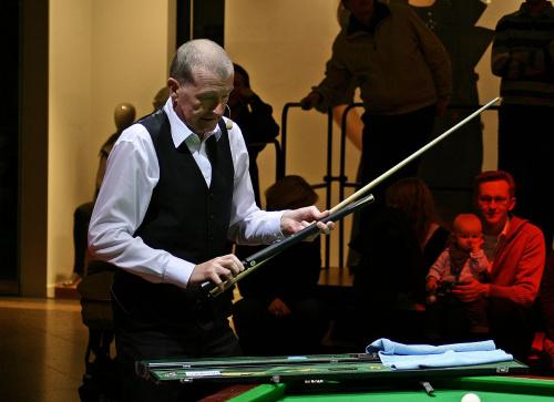 Steve Davis #Snooker #bilard #gra #mistrz
