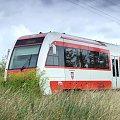 Szynobus (SA 132 - 001), okolice Lubonia (Wielkopolska), 09.08.2008, trasa Poznań - Wolsztyn #PojazdySzynowe #szynobus #kolej #kolejnictwo #lokomotywy