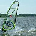 Miedwie. Lato 2008. #miediwe #windsurfing #woda #jezioro #wiatr #deska #żagiel