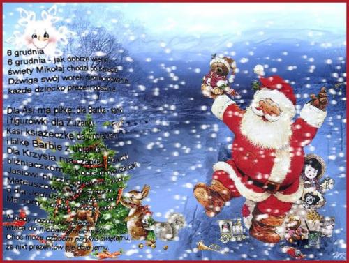 Gdy Mikołaj Cię ominie, zrób na wieczór smutną minę, bo to obowiązek Świętych by przynosić nam prezenty! #kartka #Mikołajki #święto #radość #prezenty