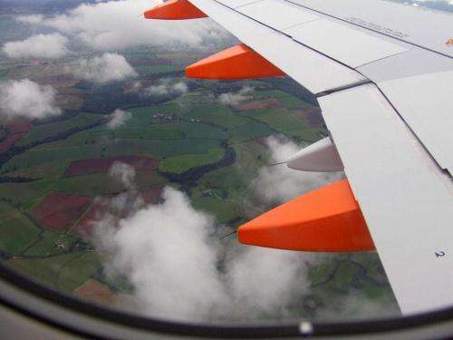 Widok z samolotu #Widoki #Maszyny