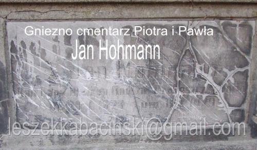 Gniezno cmentarz ś. Piotra i Pawła ul. Kłeckowska Tablica grobowiec na cmentarzu.