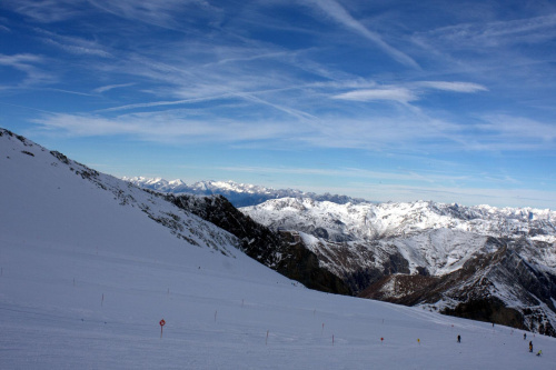 Hintertux #góry #zima #narty #Austria