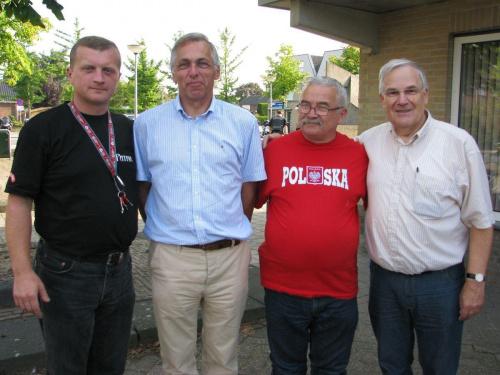 Arno Baltussen - drugi od lewej. Driel #Driel #Baltussen #Sosabowski