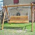 huśtawka drewniana szydłowiec nowa sprzedaż #hustawka #drewniana #ogród #wyposażenie #szydłowiec
