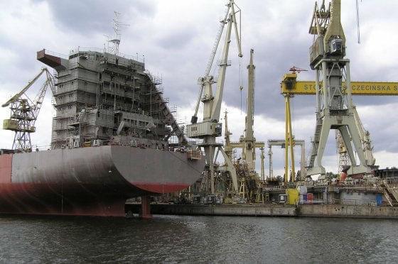 Port Gdynia w Stoczni Szczecińskiej