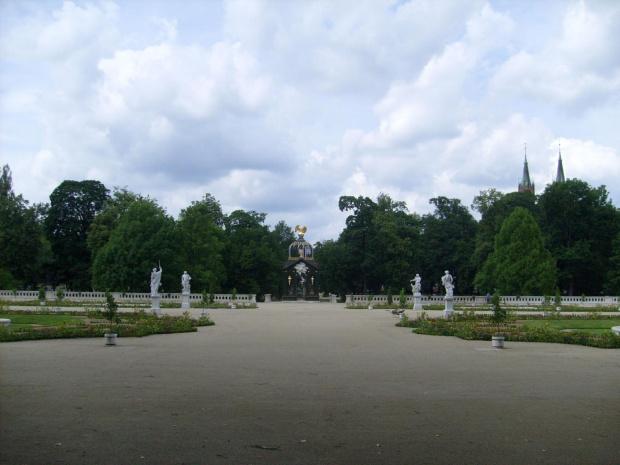 Ogrody Pałacu Branickich Białystok #ogród #Białystok